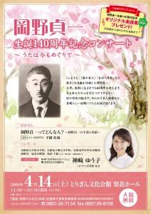 岡野貞一 生誕140周年