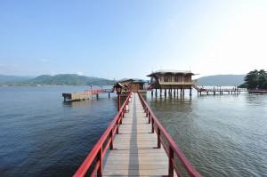 湯めぐり湖道:全景