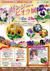 2017花回廊パンジー