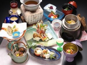 料理:松茸会席(夕)2012