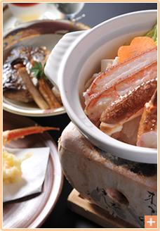 山陰冬の味覚:料理写真イメージ